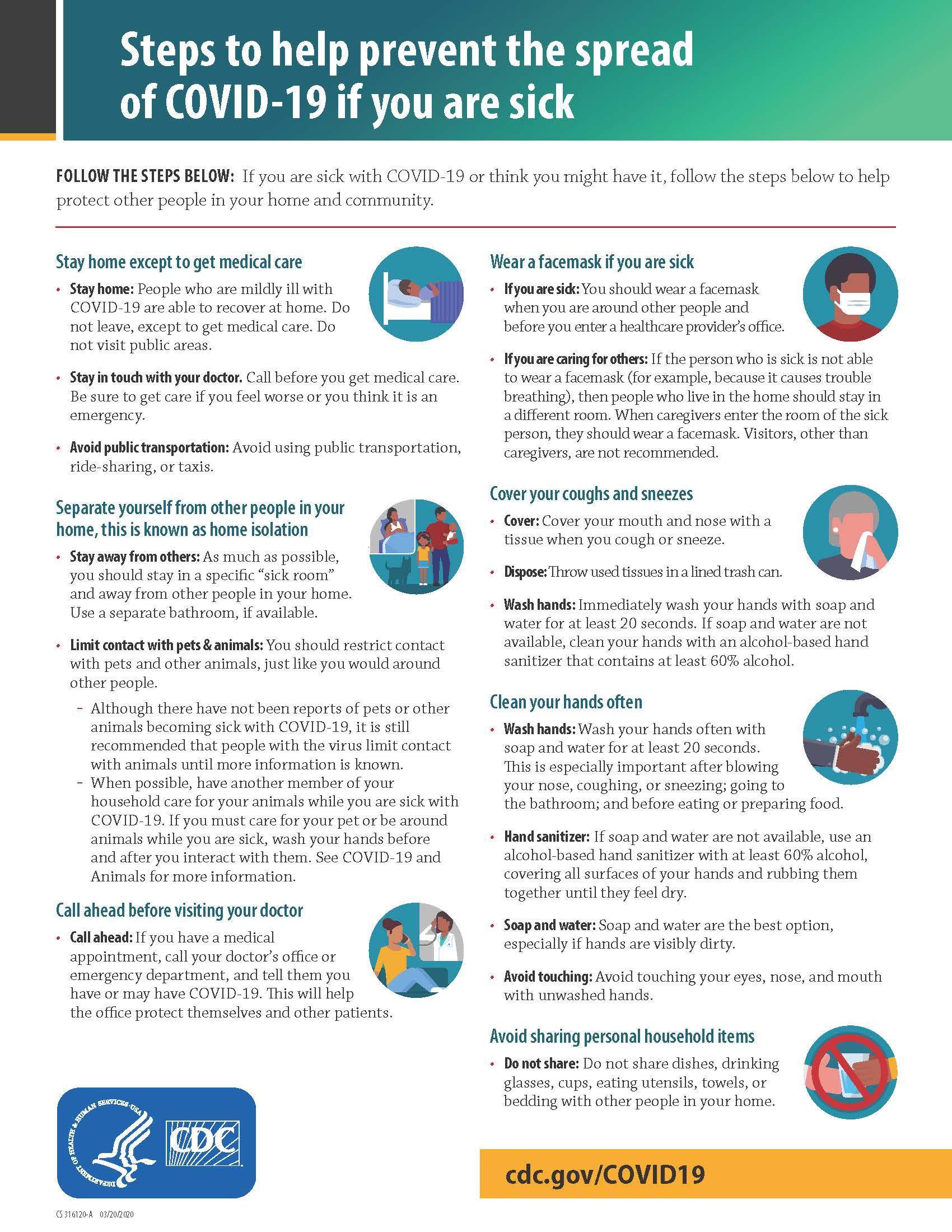 What To Do If You Are Sick_Page_1