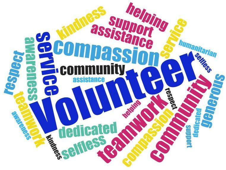Volunteer wordcloud3