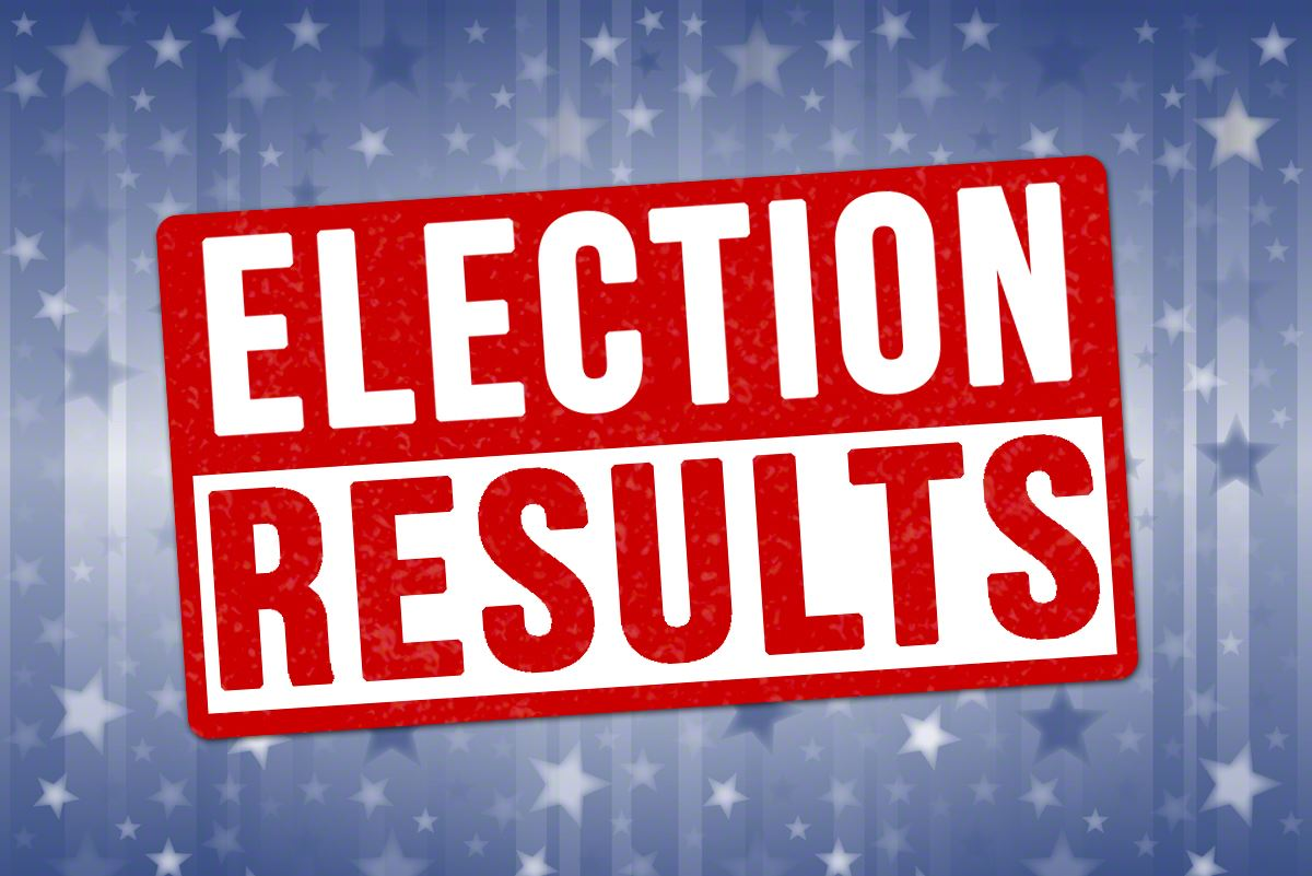 Election Results text graphic